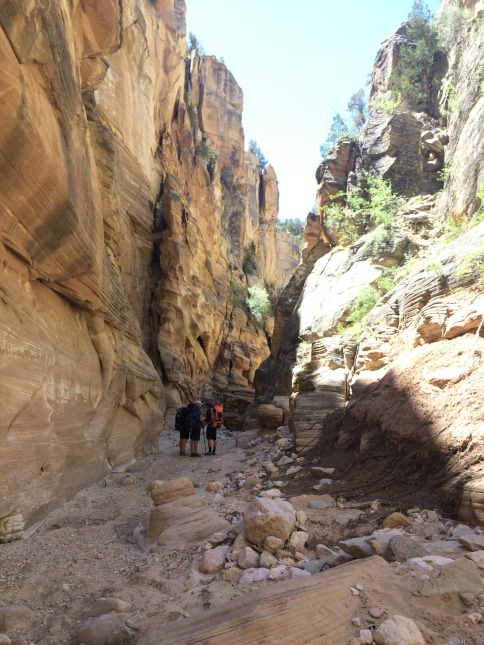 Hiking Bull Valley Gorge